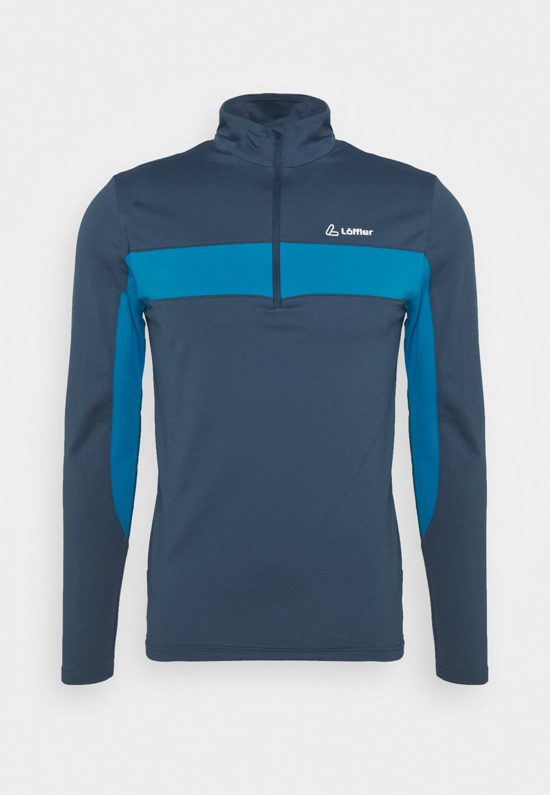 LÖFFLER - Long sleeved top - blue