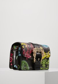 Versace Jeans Couture - LOGATA BUCKLE - Across body bag - black - 3