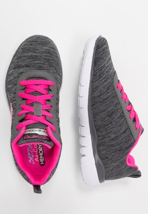 APPEAL 3.0 - Trainers - black/charcoal/hot pink