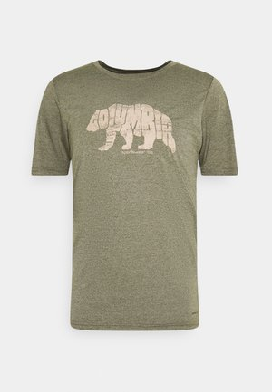 TERRA VALE™ TEE - Print T-shirt - new olive heather