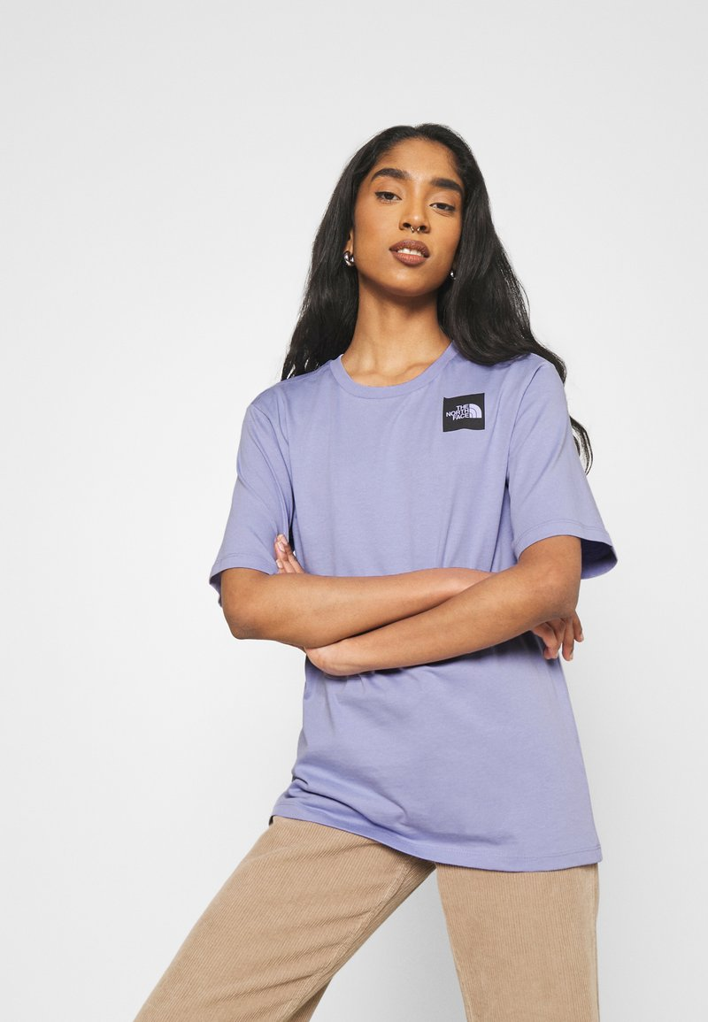 The North Face - FINE TEE - Print T-shirt - sweet lavender
