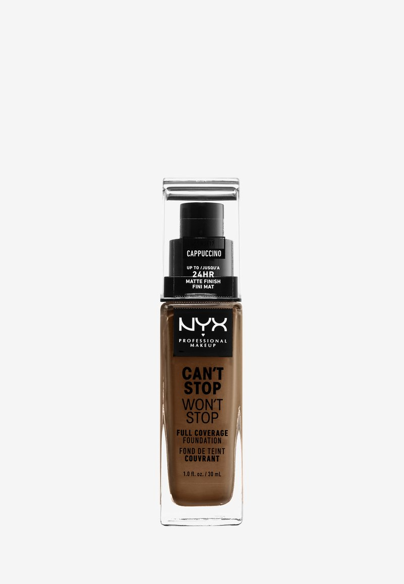 Nyx Professional Makeup - CAN'T STOP WON'T STOP FOUNDATION - Foundation - 17 cappuccino