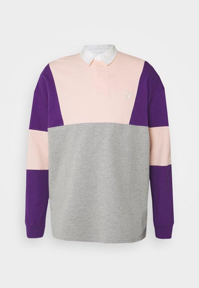 UNISEX - Koszulka polo - mottled grey