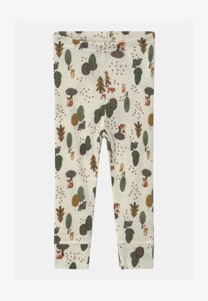 NBMWILLIT - Leggings - Trousers - snow white