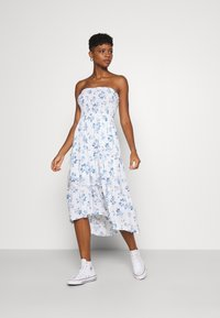 Hollister Co. - CHAIN MIDI DRESS - Day dress - white - 3