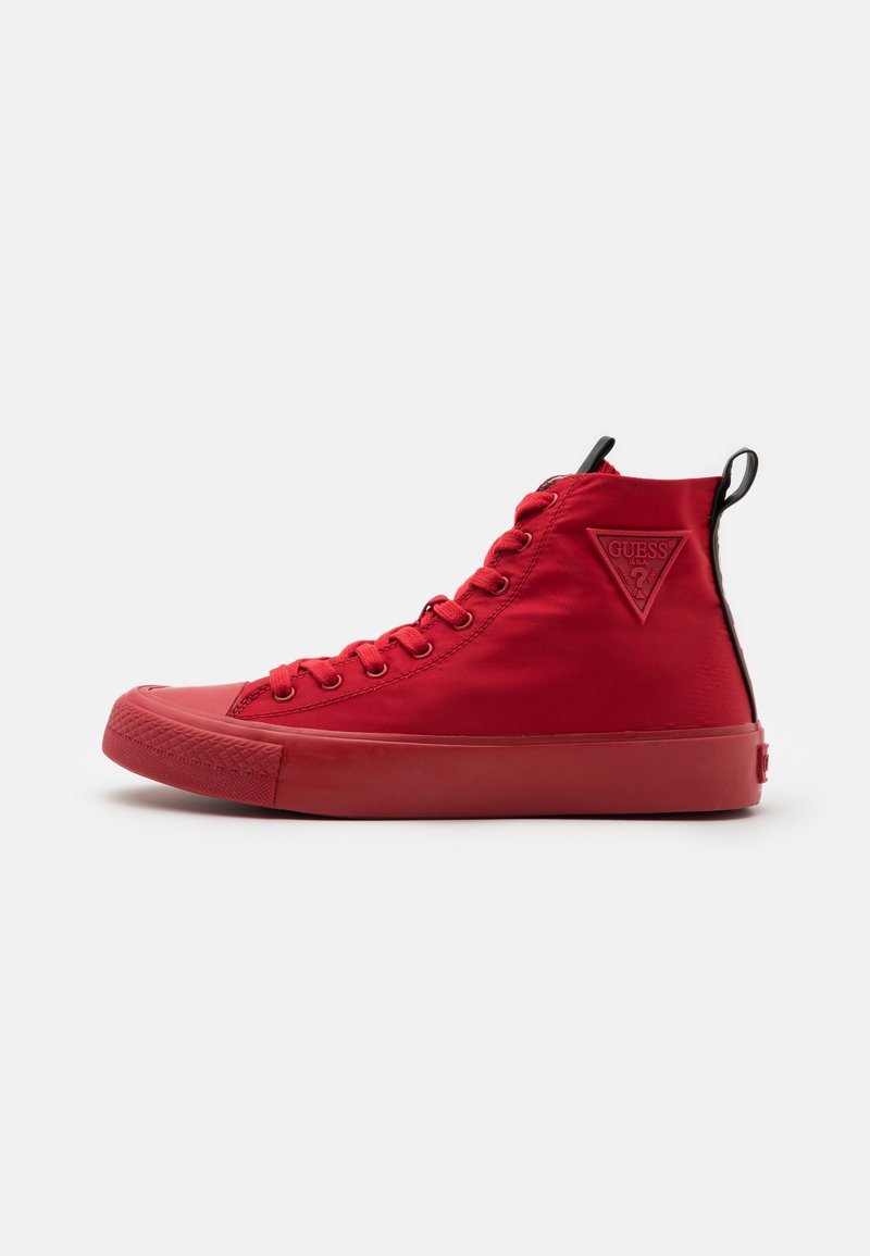 Guess - EDERLE - High-top trainers - red