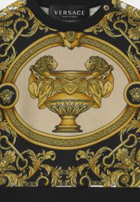 Versace - BAROQUE PRINT MOSAIC UNISEX - Mikina - white/gold/kaki - 2
