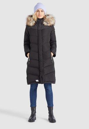 LUBECK LONG4 - Abrigo de invierno - schwarz