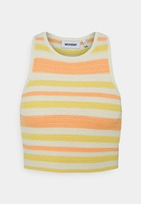 Weekday - BAY COCHET TANK - Top - multicoloured - 0