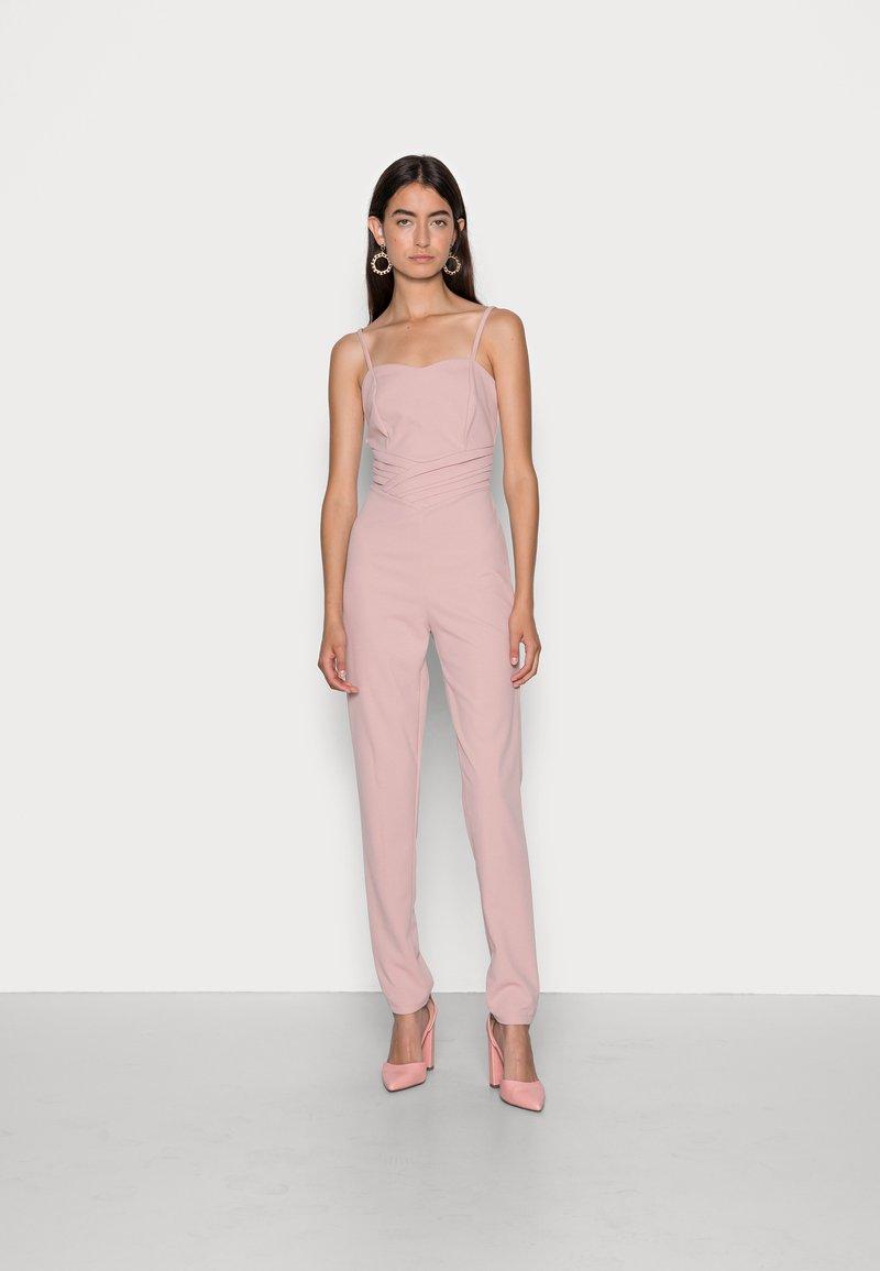 WAL G. - RIMI STRAIGHT LEG - Jumpsuit - blush pink