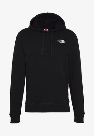 GRAPHIC HOODIE - Bluza z kapturem - tnf black/tnf white
