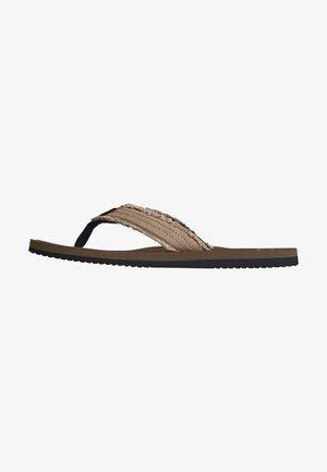 Sandalias de dedo - gravel
