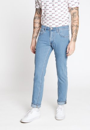 DAREN ZIP FLY - Jeans a sigaretta - light stonewash