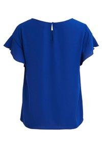 Vila - VILUCY FLOUNCE - Blouse - blue - 1