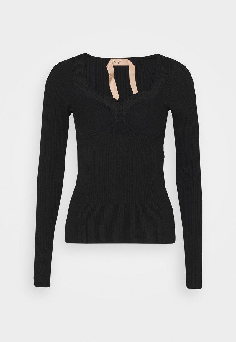 N°21 - Jersey de punto - black