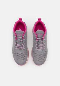 Skechers Sport - BOBS GAMMA - Joggesko - gray/pink - 5