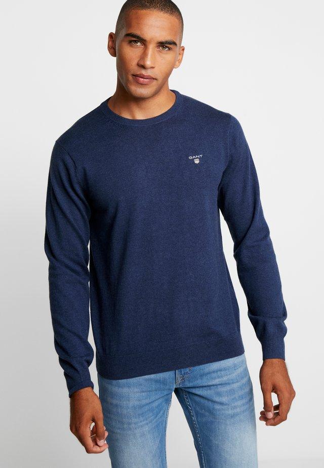 CREW - Sweter - marine melange