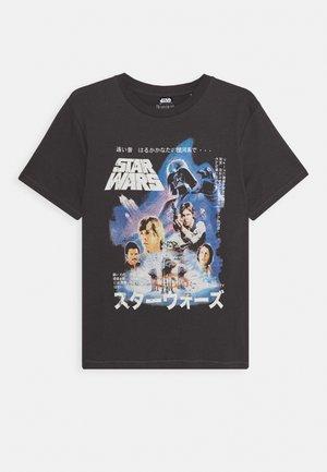 TEENS ASH STAR WARS TEE - T-shirt z nadrukiem - graphite