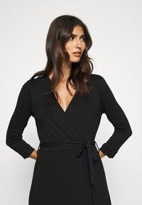 Esprit - WRAP DRESS - Maxi dress - black - 3