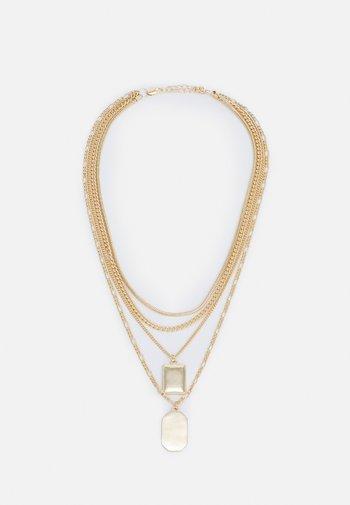 FGBUNNI COMBI NECKLACE - Necklace - gold-coloured