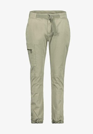 Cargo trousers - dusty green