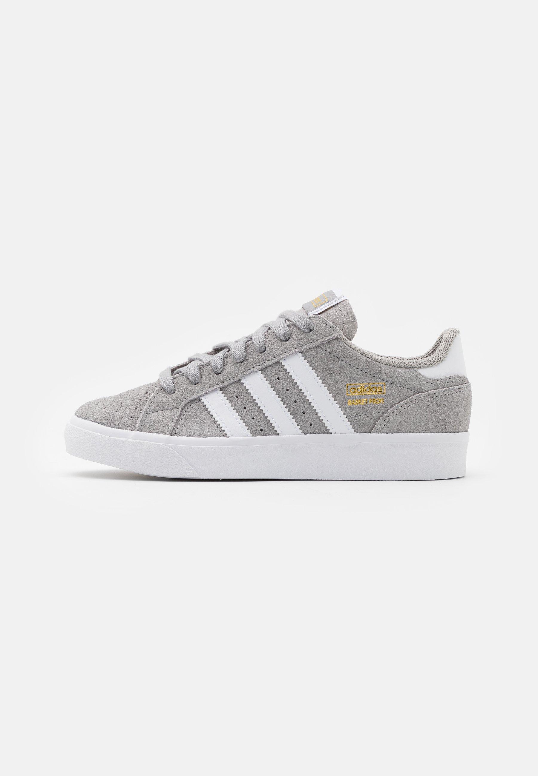 BASKET PROFI UNISEX - Sneakers basse - solid grey/footwear white/gold metallic