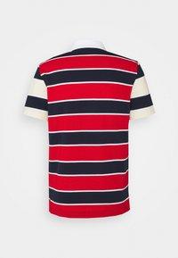 Lacoste - Polo shirt - rouge/marine naturel/clair blanc - 7