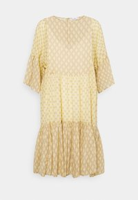 CLOSED - TENNIE - Day dress - strong mustard - 6