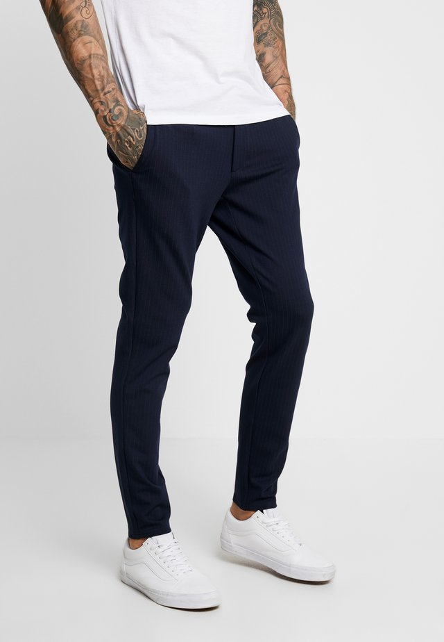 ONSMARK PANT STRIPE - Pantalon classique - night sky
