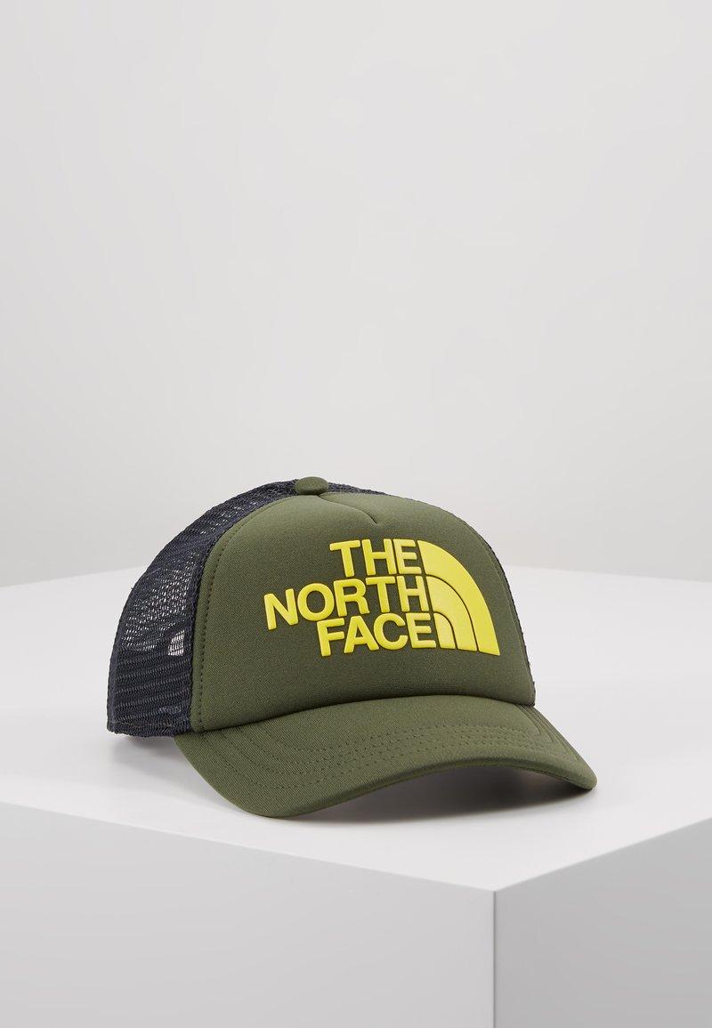 The North Face - LOGO TRUCKER - Kšiltovka - thyme/lemon