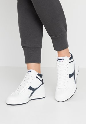 GAME  - High-top trainers - white/blue denim