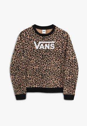 GR LEOPARD CREW GIRLS - Sweatshirt - leopard