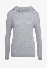 Johnstons of Elgin - CASHMERE - Hoodie - silver