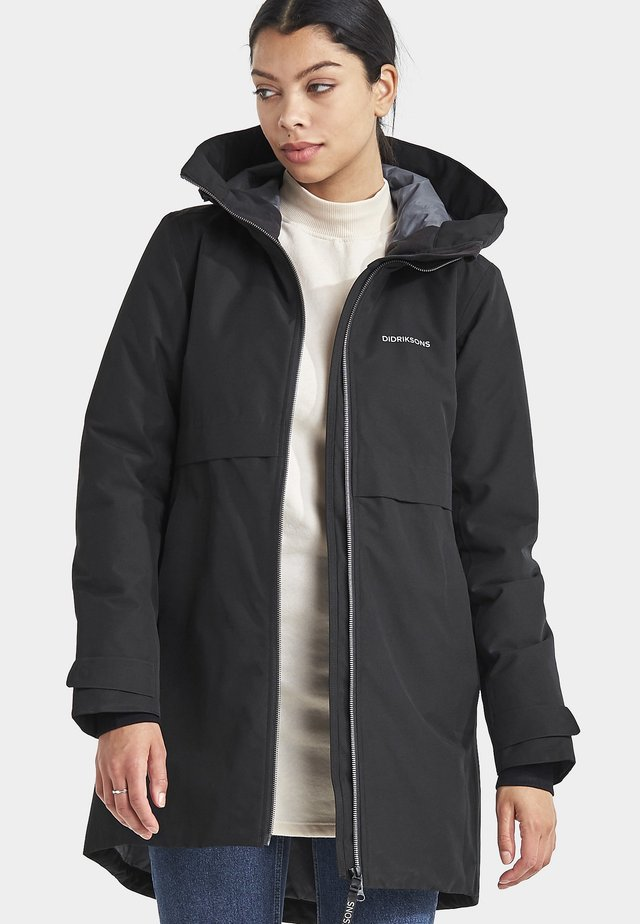HELLE - Waterproof jacket - black