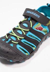Dockers by Gerli - Walking sandals - schwarz/royal - 5