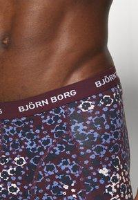 Björn Borg - SAMMY DITSY FLOWER 3 PACK - Underkläder - winetasting - 5