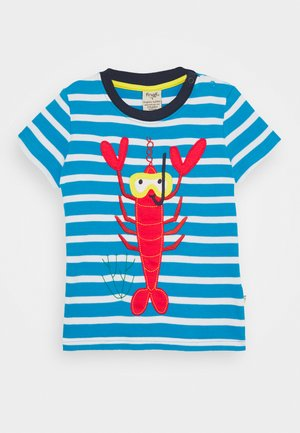 SID LOBSTER - Print T-shirt - motosu blue