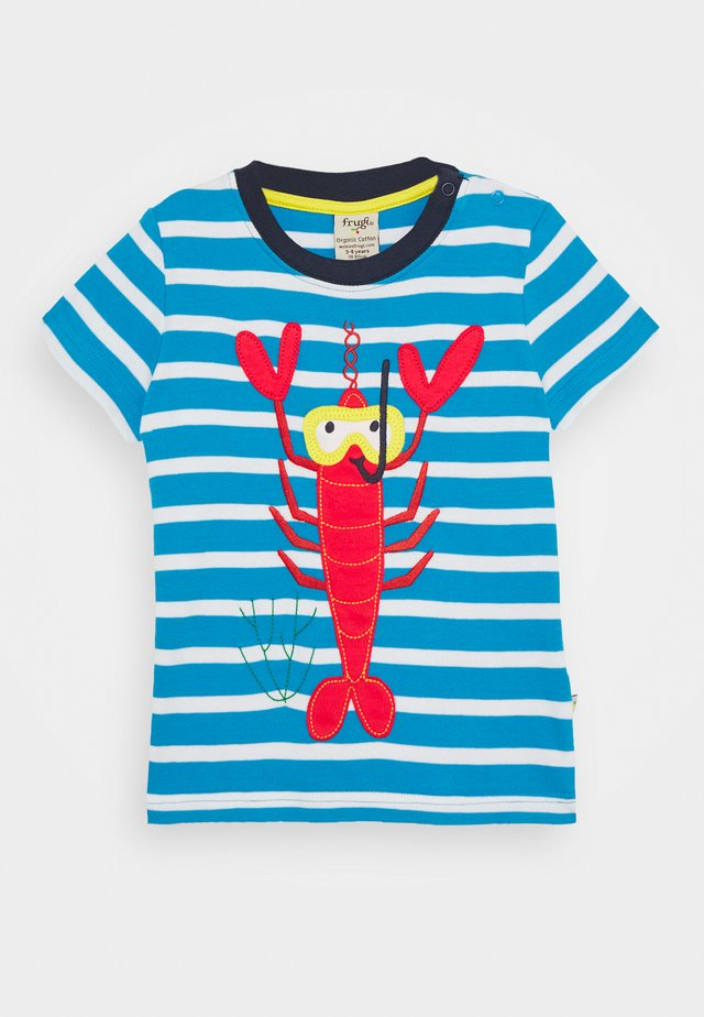 SID LOBSTER - T-Shirt print - motosu blue