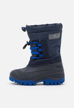 AHTO WP UNISEX - Winter boots - black blue/royal
