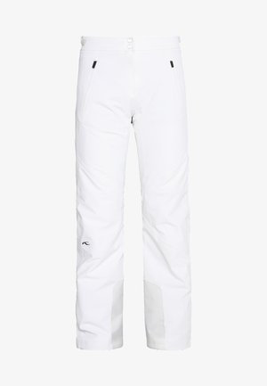 WOMEN FORMULA PANTS - Schneehose - white