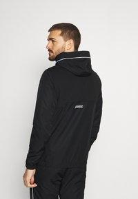 Lacoste Sport - TRACK SUIT SET - Veste de survêtement - black/white - 2