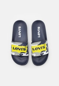 Levi's® - POOL UNISEX - Mules - navy/lime - 3