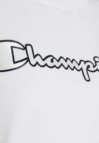 Champion Rochester - CREWNECK - Triko spotiskem - white - 2