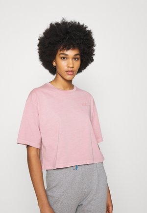 APRIL - T-shirt con stampa - nude