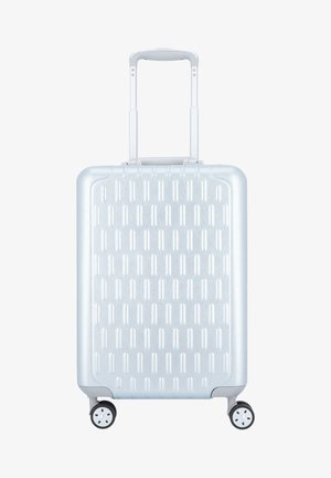 Wheeled suitcase - silver