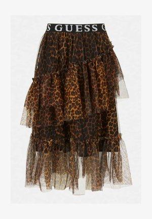 A-line skirt - animalier