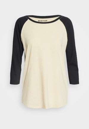 CARATUNK  - Long sleeved top - beige