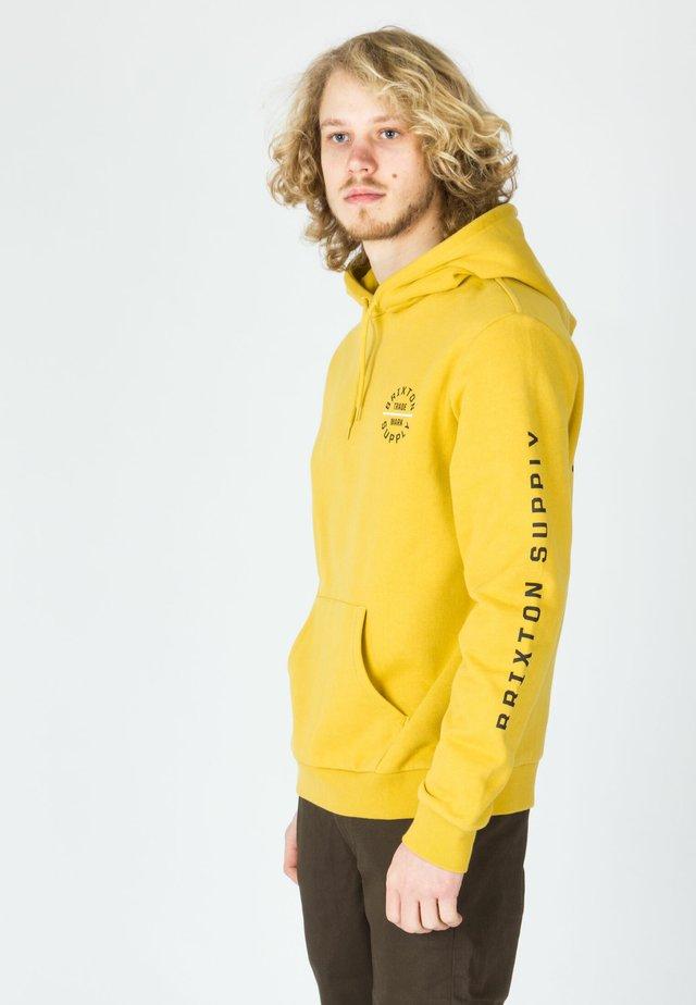 OATH VI HOOD - Hoodie - sunset yellow