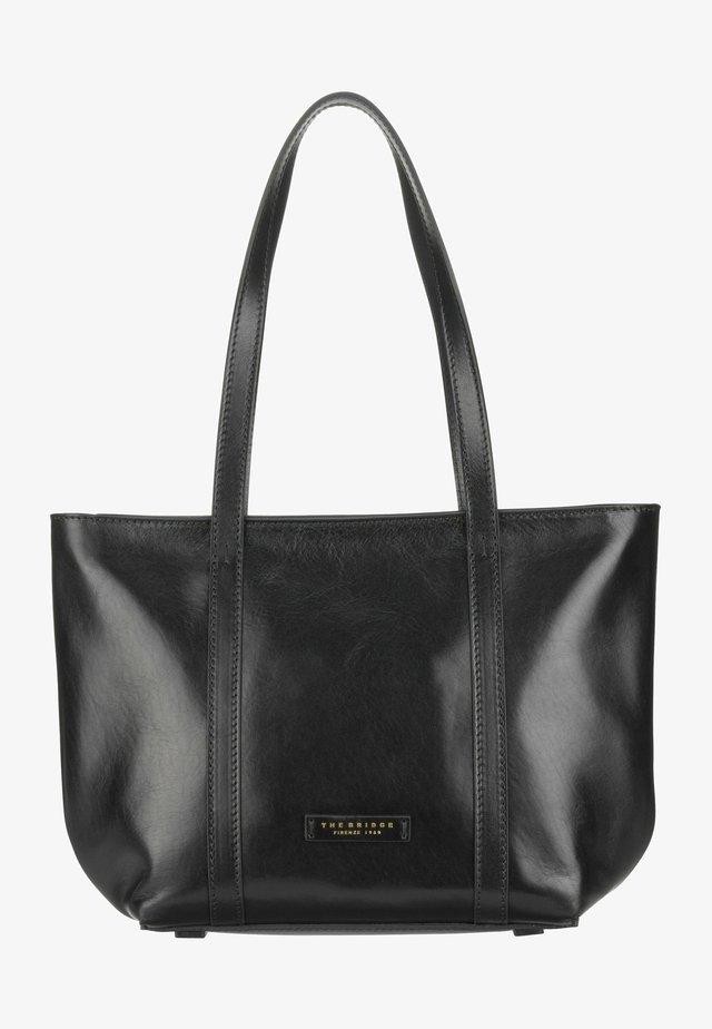 VITTORIA - Handbag - nero/oro