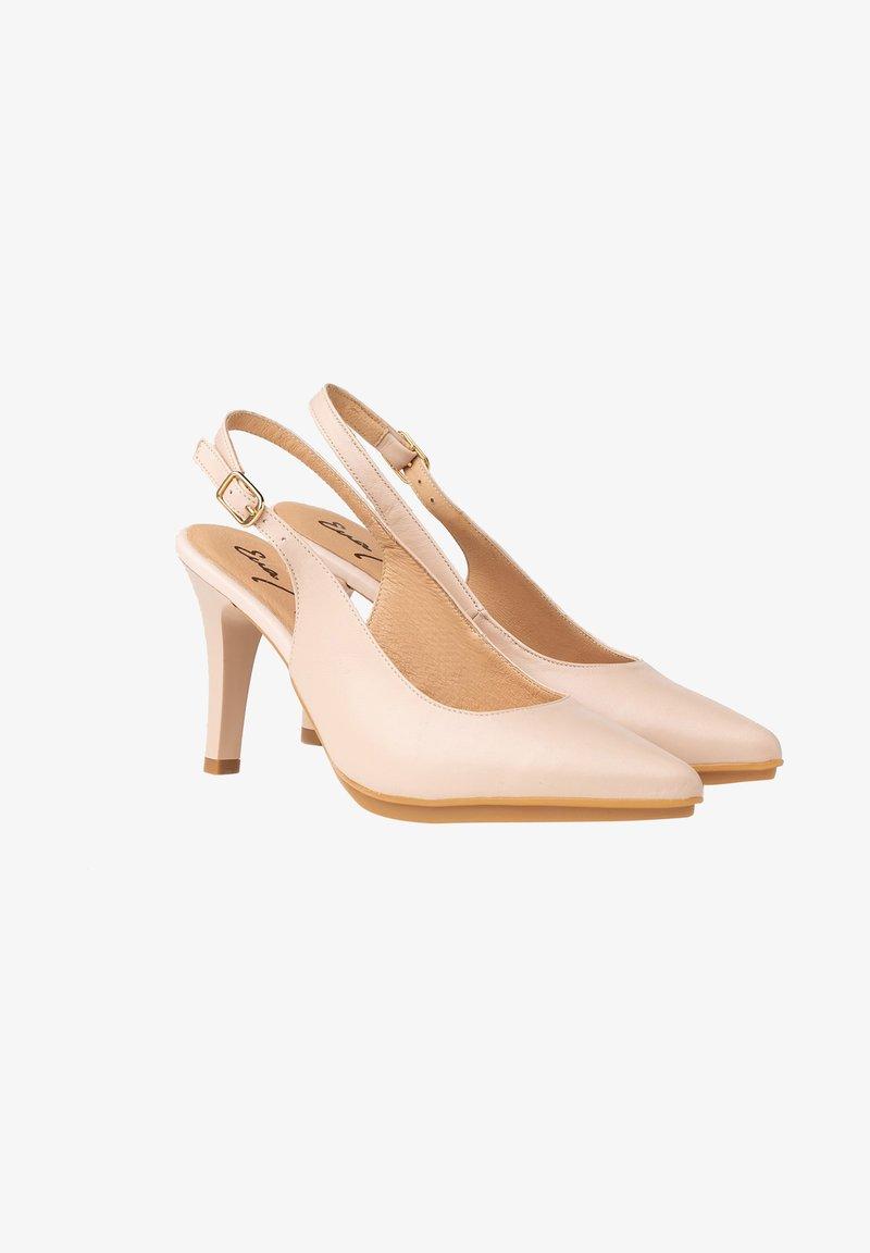 Eva Mañas - Zapatos altos - nude